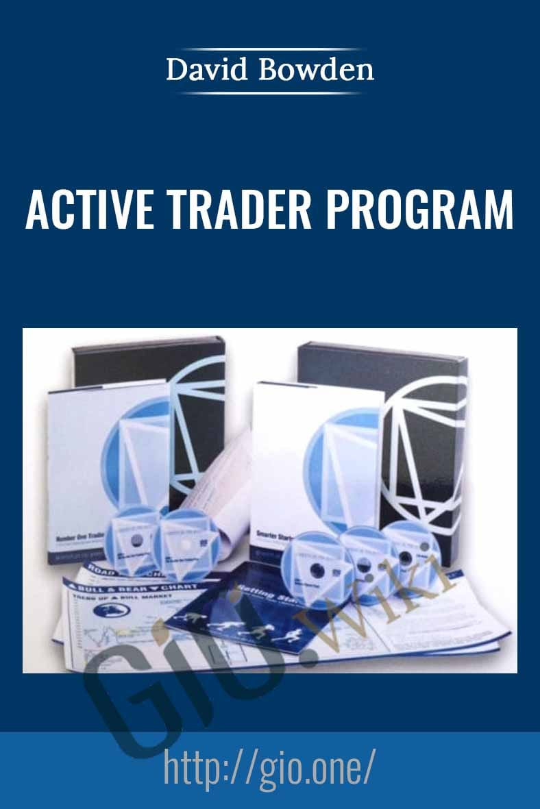 Active Trader Program (Smarter Starter Pack + the Number One Trading Plan) - David Bowden
