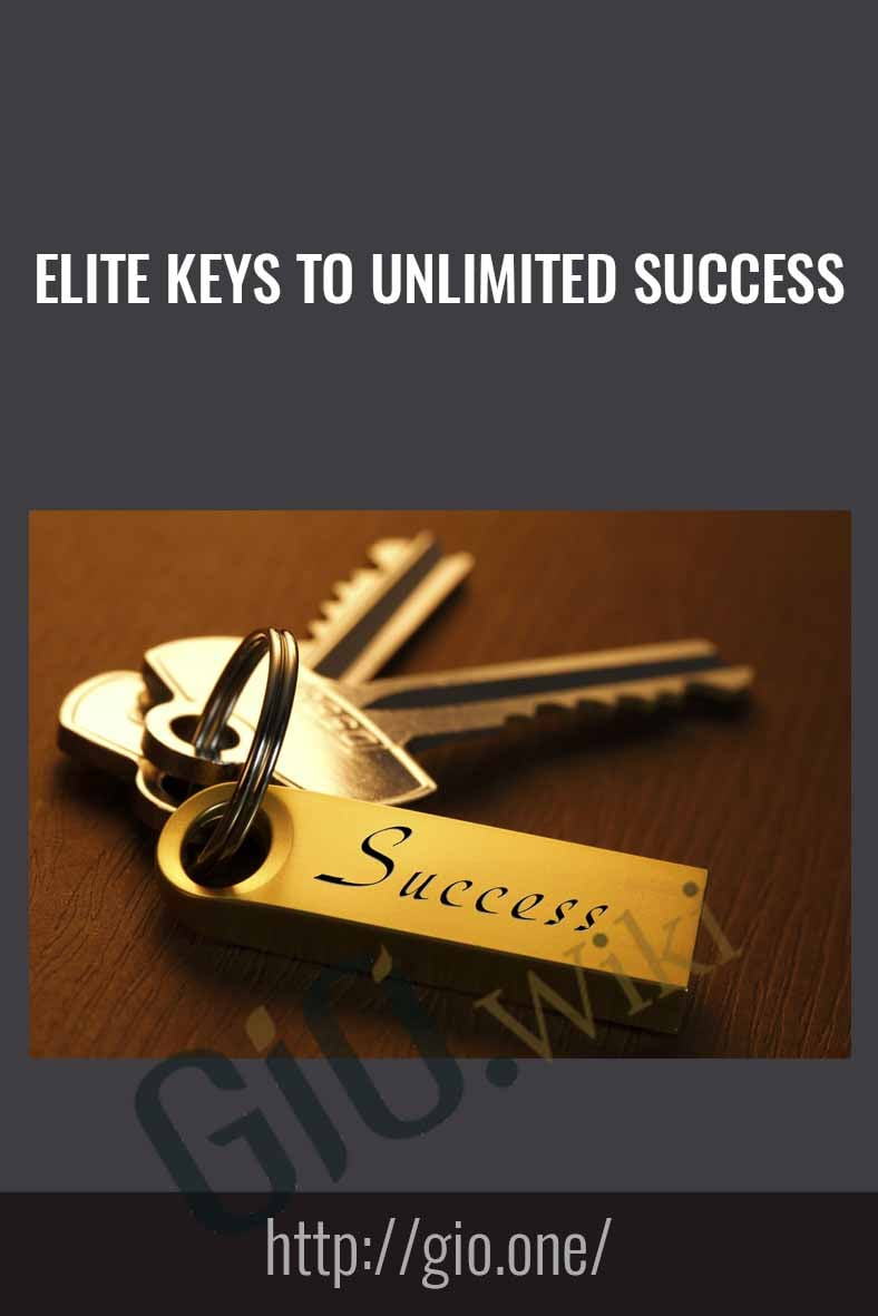Elite Keys To Unlimited Success - In The Money Stoscks