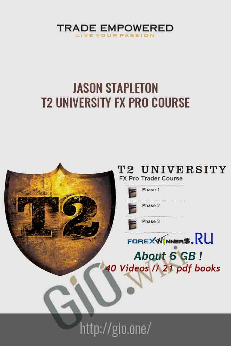 T2 University FX Pro Course - Jason Stapleton - Trade Empowered