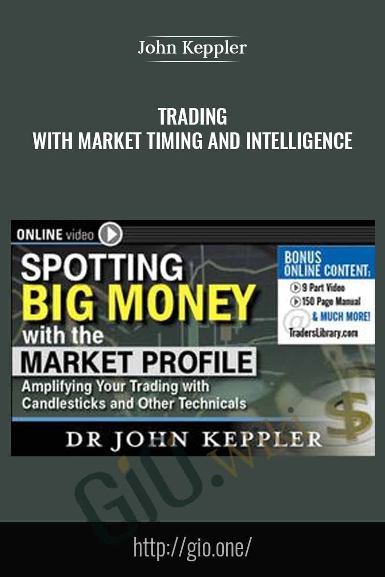 Spotting Big Money with Market Profile - John Kepler