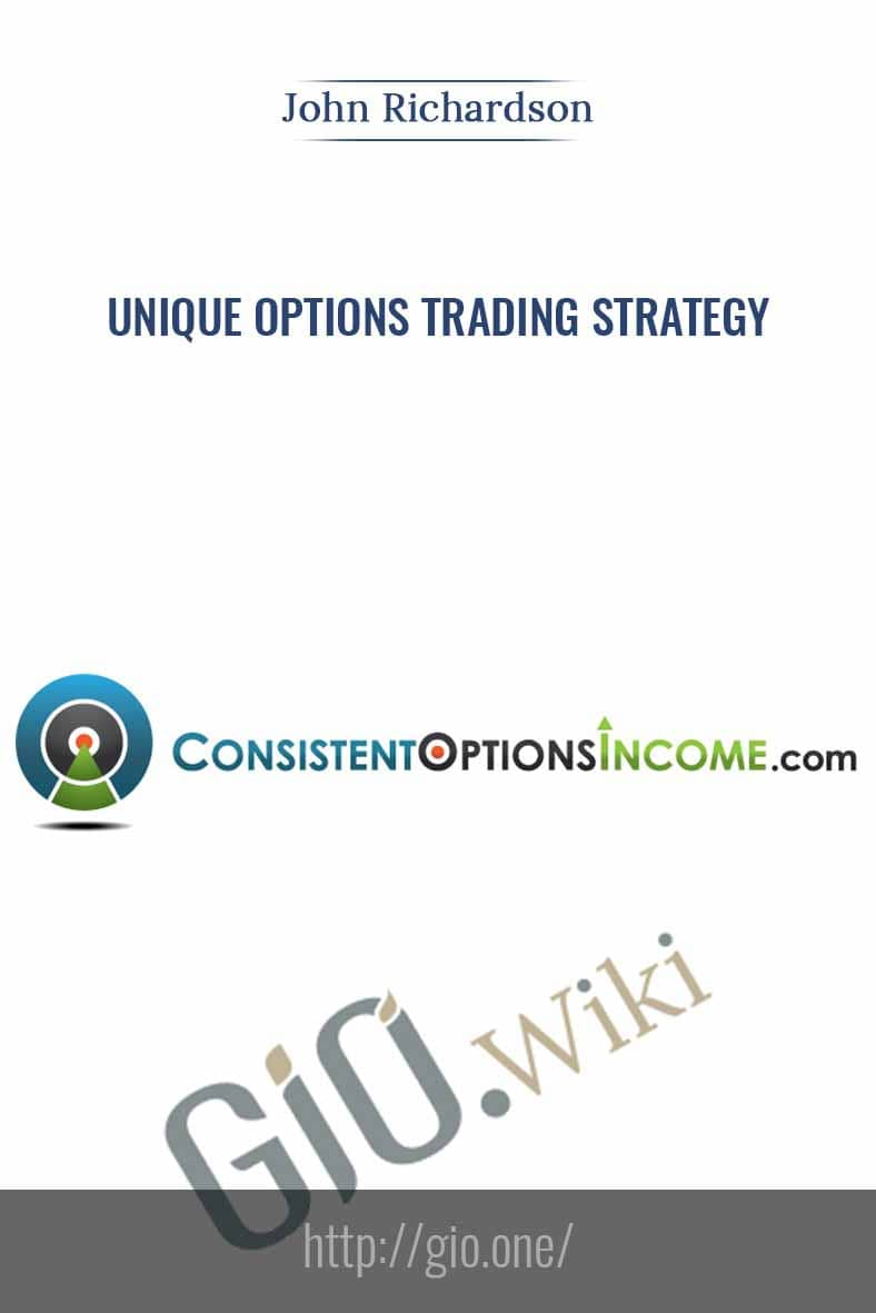 Unique Options Trading Strategy - John Richardson