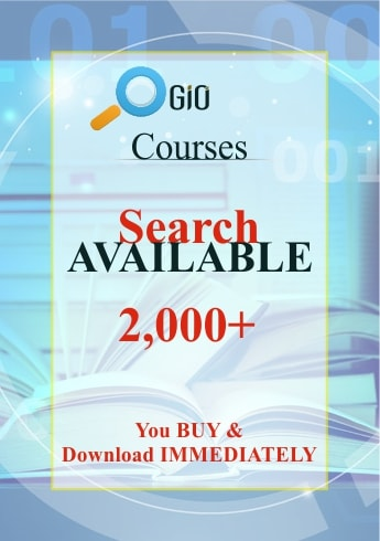 Courses Available GiO