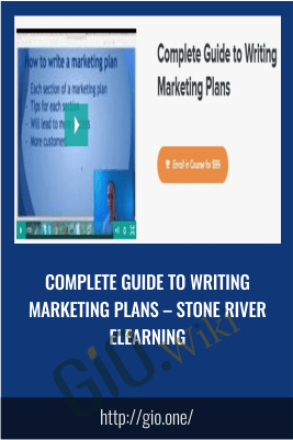 Complete Guide to Writing Marketing Plans – Stone River eLearning