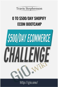 0 To $500/Day Shopify eCom Bootcamp – Travis Stephenson
