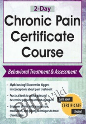 2-Day: Chronic Pain Certificate Course: Behavioral Treatment & Assessment - Robert Rosenbaum