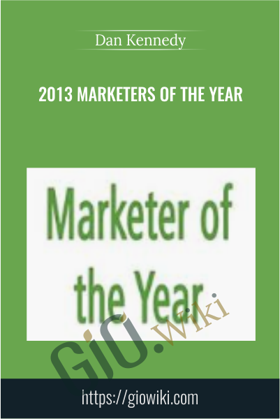 2013 Marketers Of The Year