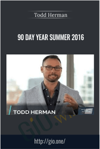 90 Day Year Summer 2016 – Todd Herman