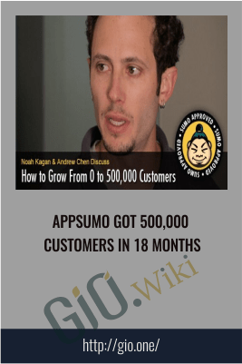 AppSumo got 500,000 customers in 18 months