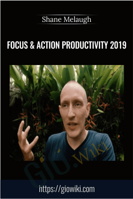 Focus & Action Productivity 2019 – Shane Melaugh
