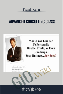 Advanced Consulting Class - Frank Kern