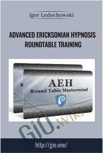 Advanced Ericksonian Hypnosis Roundtable Training – Igor Ledochowski