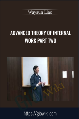 Advanced Theory of Internal Work Part Two - Waysun Liao