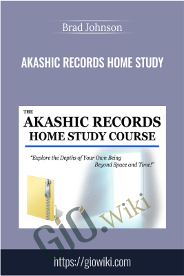 Akashic Records Home Study - Brad Johnson