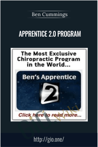 Apprentice 2.0 Program – Ben Cummings