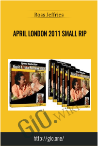 April London 2011 Small RIP – Ross Jeffries