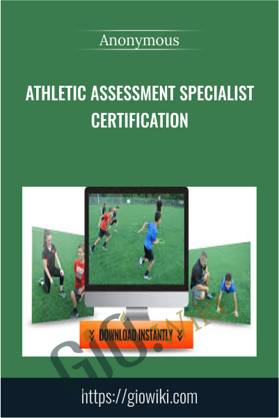 Athletic Assessment Specialist Certification
