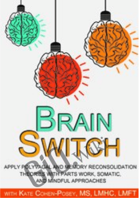 Brain Switch: Apply Polyvagal and Memory Reconsolidation Theories with Parts Work, Somatic, and Mindful Approaches - Kate Cohen-Posey