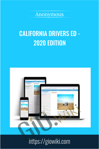 California Drivers Ed - 2020 Edition