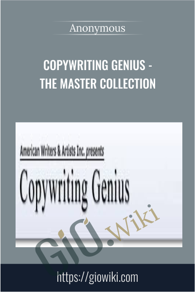 Copywriting Genius - The Master Collection