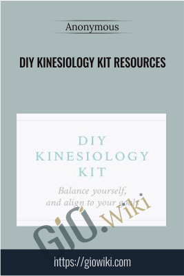 DIY Kinesiology Kit Resources