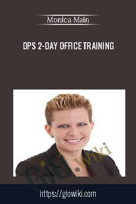 DPS 2-Day Office Training – Monica Main