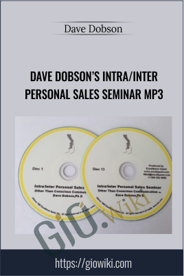 Dave Dobson's Intra/Inter Personal Sales Seminar MP3 - Dave Dobson