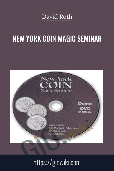 New York Coin Magic Seminar - David Roth