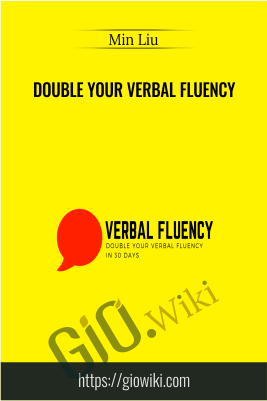 Double Your Verbal Fluency - Min Liu