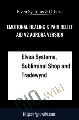 Emotional Healing & Pain Relief Aid V2 Aurora Version - Elvea Systems, Subliminal Shop and Tradewynd