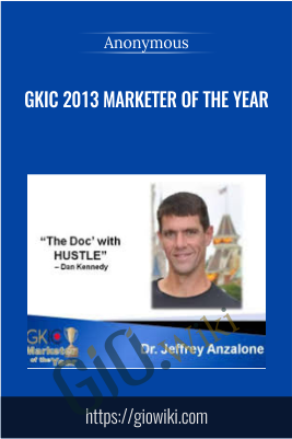 GKIC 2013 Marketer Of The Year