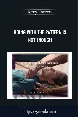 Going With the Pattern Is Not Enough (for feldenkrais practitioners) - Jerry Karzen