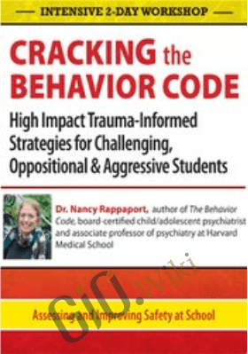 Intensive 2-Day Workshop: Cracking the Behavior Code: High Impact Trauma-Informed Strategies for Challenging, Oppositional & Aggressive Students - Nancy Rappaport
