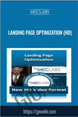 Landing Page Optimization (HD) - MECLABS