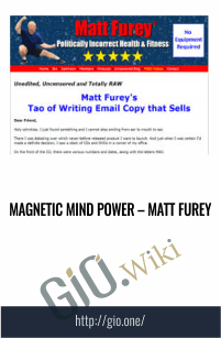 Magnetic Mind Power – Matt Furey