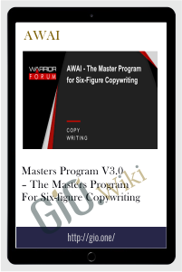 Masters Program v3.0 – The Masters Program for Six-Figure Copywriting - AWAI
