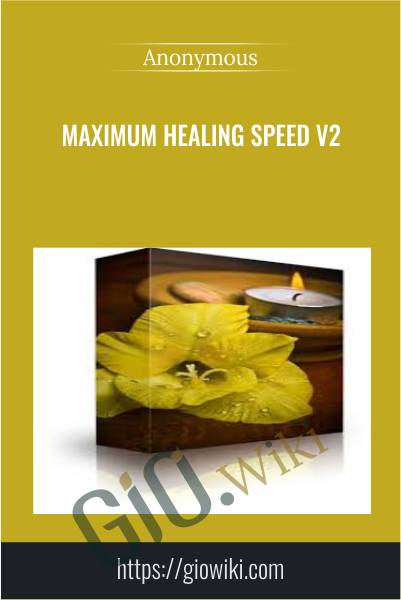 Maximum Healing Speed v2