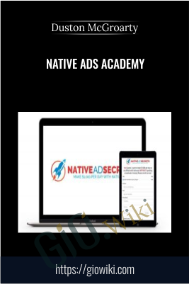 Native Ads Academy - Duston McGroarty