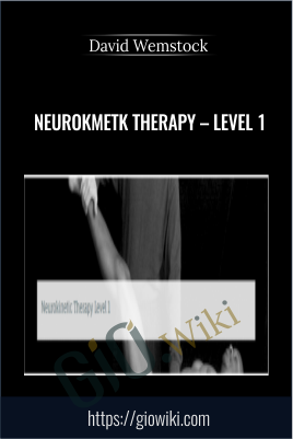 NeuroKmetk Therapy – Level 1 - David Wemstock