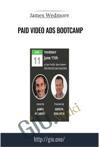 Paid Video Ads Bootcamp – James Wedmore