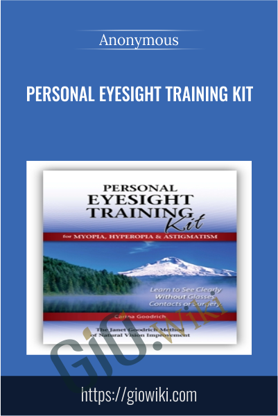Personal Eyesight Training Kit