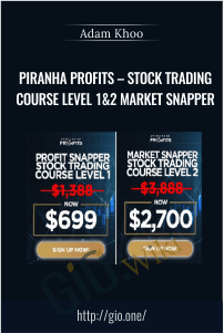 Piranha Profits – Stock Trading Course Level 1&2 Market Snapper