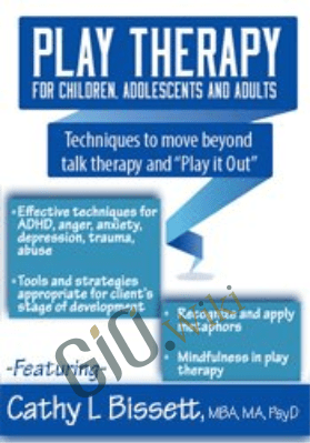 "Play Therapy for Children, Adolescents and Adults: Techniques to move beyond talk therapy and ""Play It Out"" - Cathy Bissett"