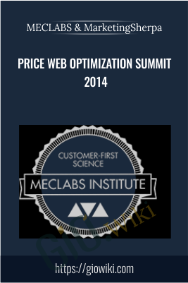 Price Web Optimization Summit 2014 – MECLABS & MarketingSherpa