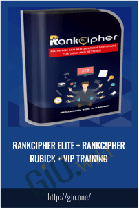 RankCipher Elite + RankCipher Rubick + VIP Training