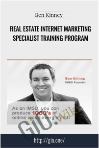 Real Estate Internet Marketing Specialist Training Program – Ben Kinney