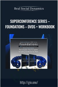 Superconference Series – Foundations – DVDs + Workbook – Real Social Dynamics