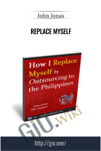 Replace Myself – John Jonas