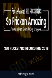 SEO Rockstars Recordings 2018