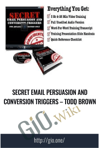Secret Email Persuasion and Conversion Triggers