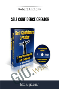 Self Confidence Creator – Dr. Robert Anthony
